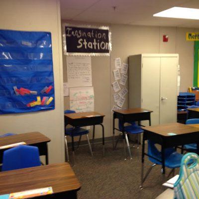 My New Classroom & Funday Monday