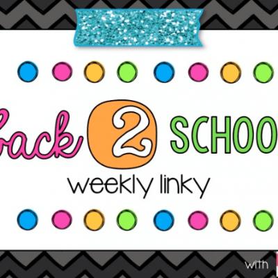 Back 2 School Linky – Week 1 Behavior Management