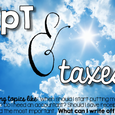 Taxes and TPT: Part 1