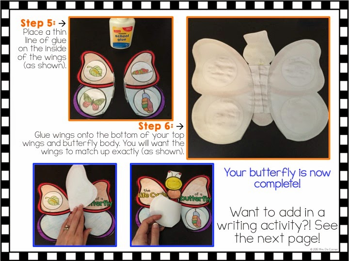 https://www.teacherspayteachers.com/Product/FREE-Butterfly-Life-Cycle-Craftivity-and-Writing-Response-1774446