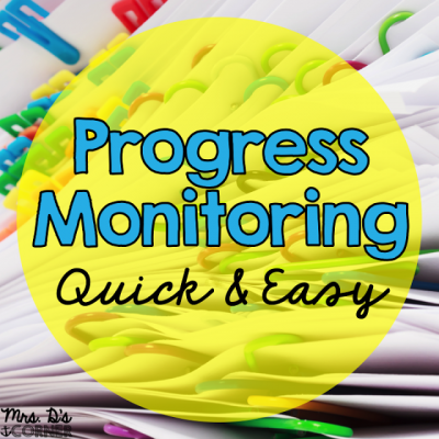 Progress Monitoring Made Quick and Easy