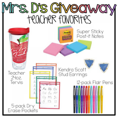 Mrs. D's Annual BTS Giveaway