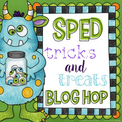 SPED Tricks and Treats Blog Hop