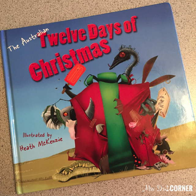 australian 12 days of christmas. books for australia holidays around the world.