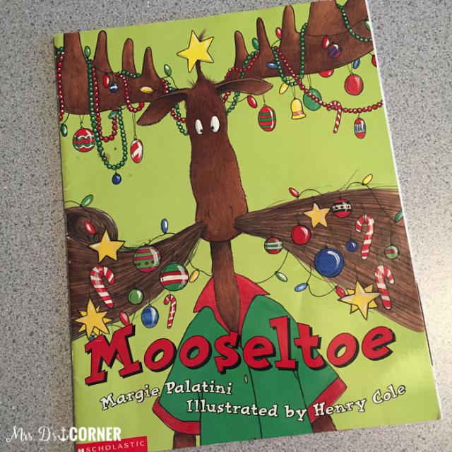 December Read Aloud for Books Teachers Love, featuring Mooseltoe