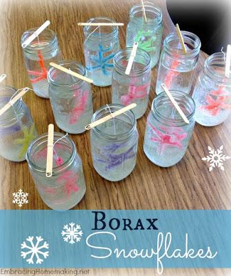 http://embracinghomemaking.net/2014/12/borax-snowflakes-inspiring-monday/