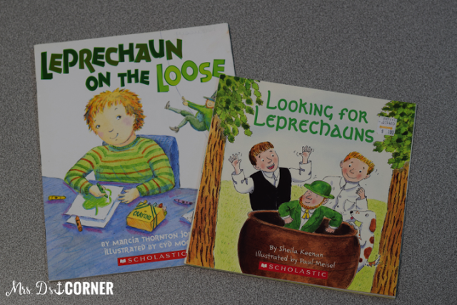 Two great books to read during March for Saint Patrick's Day. MDC.