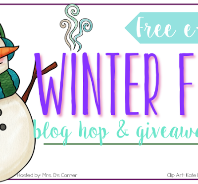 Winter Blog Hop, Giveaway, and Free e-Book