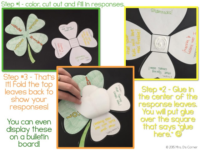 Saint Patrick's Day activities and lesson plans that cross all academics off the list: math, ELA, science and social studies. Includes a free craft for you and your students, as well as adapted books, life cycle of a shamrock flip books and more. Blog post at Mrs. D's Corner.