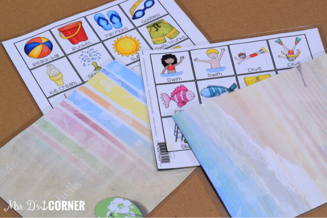 Do it yourself match card game picture how to blog post, helping you keep your students busy during the summer or for indoor recess. Free download to get you started, only at Mrs. D's Corner.