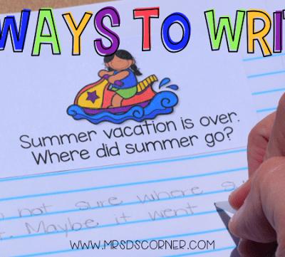 3 Ways to Write