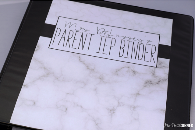 https://www.teacherspayteachers.com/Product/Parent-IEP-Binder-Editable-Black-and-White-IEP-Companion-2560740