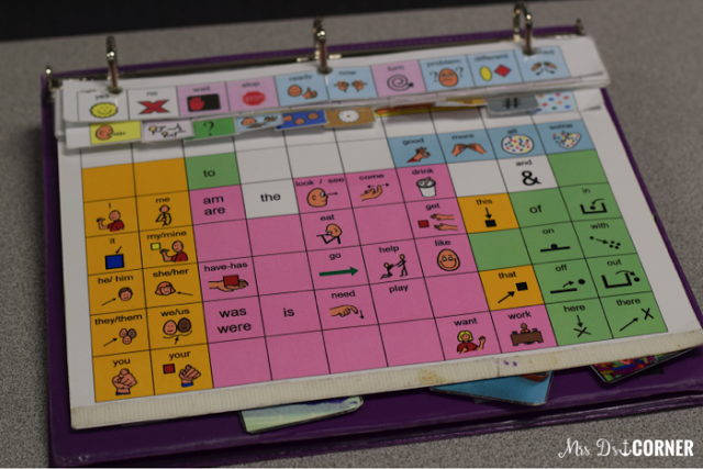 core vocabulary for the first two weeks of school lesson plas