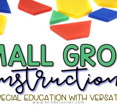 Small Group Instruction with VersaTiles