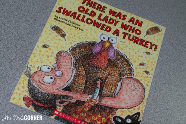 Old Lady Swallowed Turkey Books Teachers Love Mrs Ds Corner