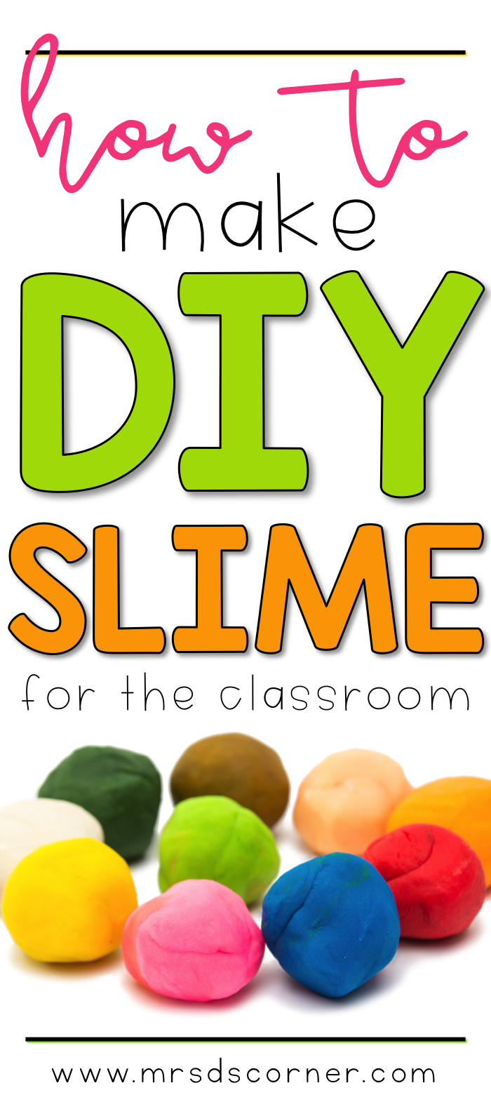 Sensory input for students how to make slime mrs ds corner ccuart Images