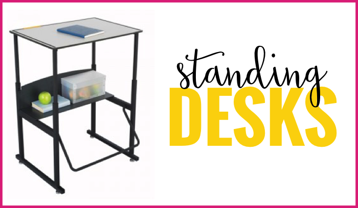 standing desks flexible seating