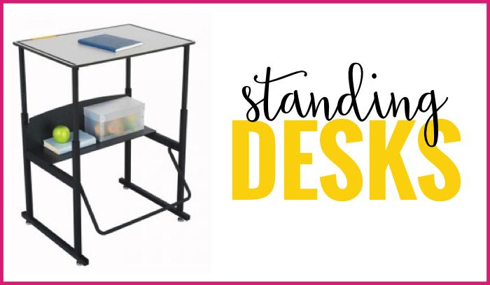 standing desks flexible seating