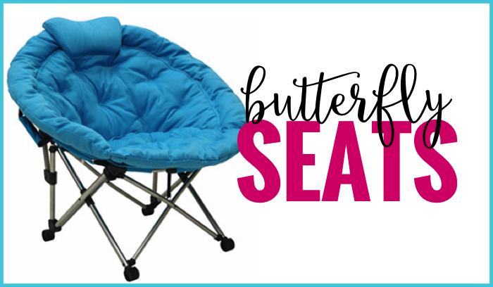 butterfly seat flexible seating