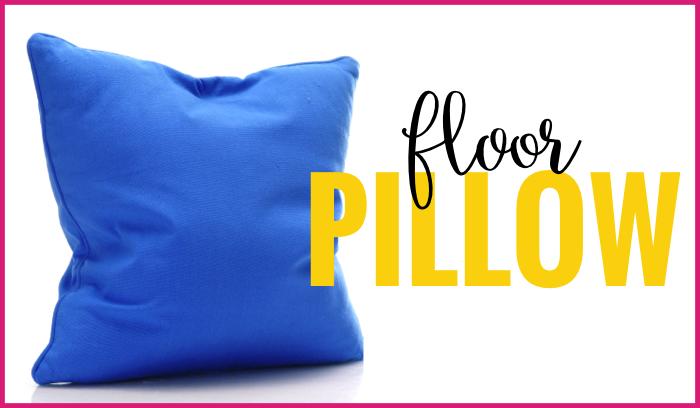 floor pillow flexible seating