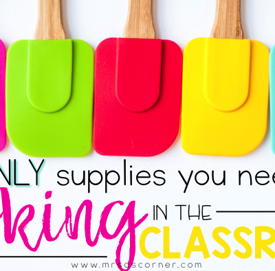 The Only 11 Things You Need to Start Cooking in the Classroom