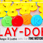 Fine Motor Friday with Play-Doh®