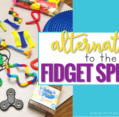 Sensory Alternatives to the Fidget Spinner