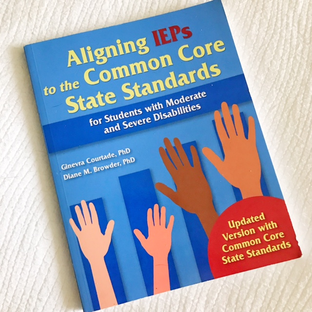 aligning reps to the common core state standards. Professional Development books for teachers to read. Helpful books for teachers and parents of students with special needs. Reviews and blog post at Mrs. D's Corner.