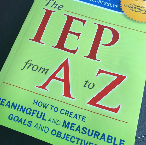 the IEP from a to z. Professional Development books for teachers to read. Helpful books for teachers and parents of students with special needs. Reviews and blog post at Mrs. D's Corner.